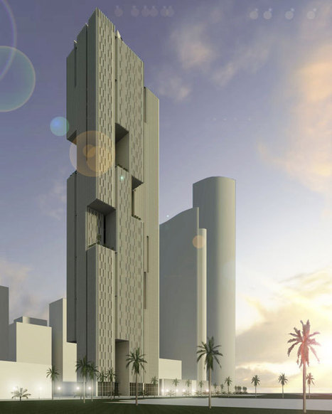 Skyscraper Facade Reinvented for Extreme Desert Climate | sustainable architecture | Scoop.it
