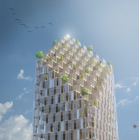 Wooden Skyscraper \ C.F. Møller Architects : plusMOOD   Olivier Duparc   Scoop.it