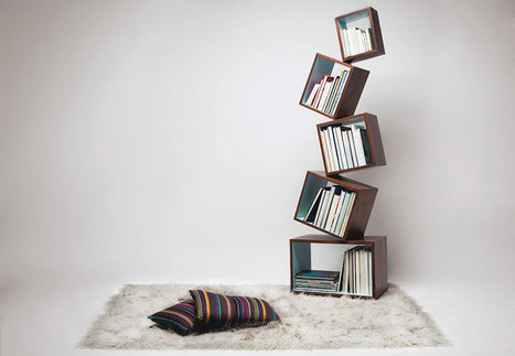 Beautiful bookshelves | D_sign | Scoop.it
