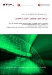Résultats de l'enquête « Management optimisé des litiges et ... | Entreprises et conflits | Scoop.it
