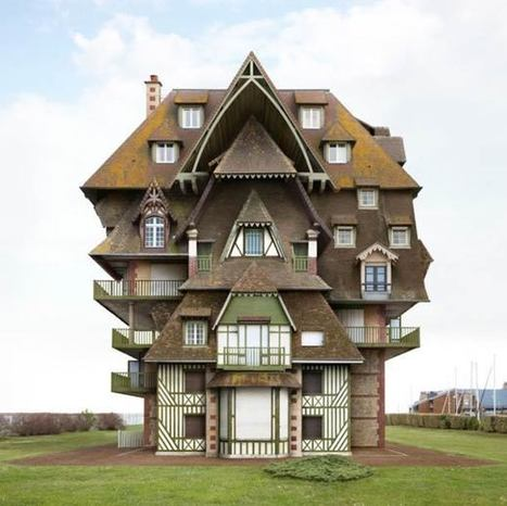 19 bâtiments impossibles et surréalistes de Filip Dujardin | The Blog's Revue by OlivierSC | Scoop.it