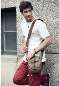 mens mini cross shoulder bags | personalized canvas messenger bags and backpack | Scoop.it