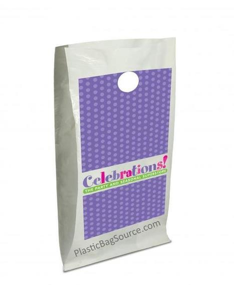 Round Die Cut | Smooth Patch Shopping Bags | Plastic Shopping Bags | Scoop.it