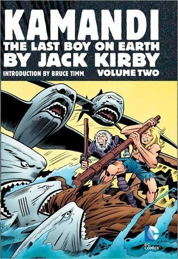 Graphic Books Best Sellers: Jack Kirby's 'Kamandi' | Jack Kirby | Scoop.it