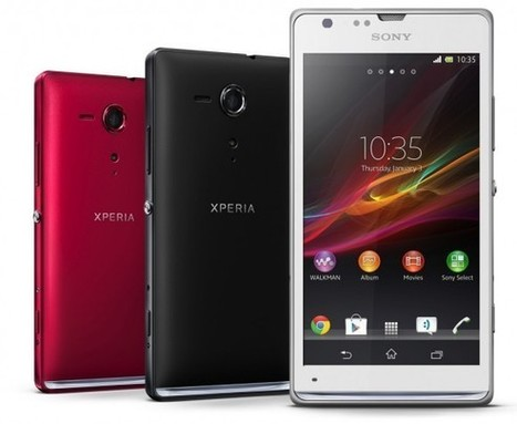 New Phones.. Sony Xperia SP and L take Exmor photography to the midrange | MyEnglish Melvin | Scoop.it