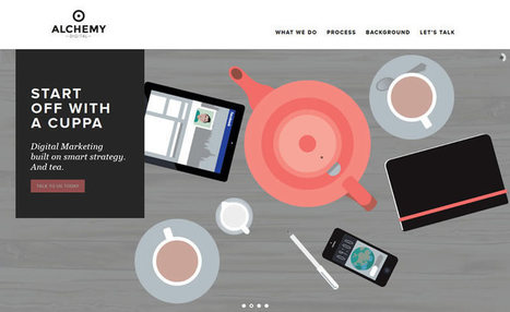 Flat Illustration in Web Design | Collecting About Design | Scoop.it