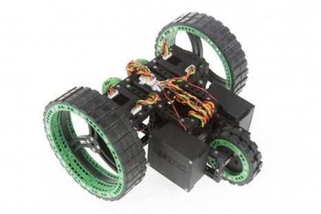 Cagebot: Industrieroboter zum Selberbauen - Golem.de | Programmieren in der Schule | Scoop.it