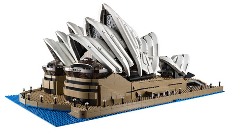 New Lego Sydney Opera House Is Huge—Almost 3,000 Bricks | All Geeks | Scoop.it