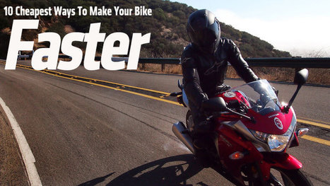 10 Cheapest Ways to Make Your Bike Faster | Ductalk Ducati News | Scoop.it