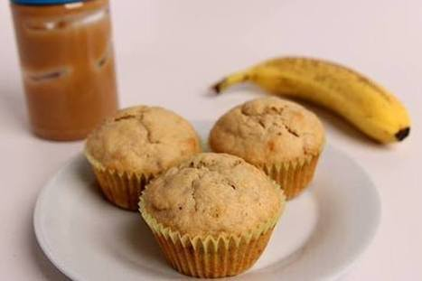 Peanut Butter and Banana Muffins   desserts   Scoop.it