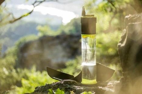 UP Magazine - Fontus, la bouteille qui transforme l'air en eau | Ressources pour la Technologie au College | Scoop.it