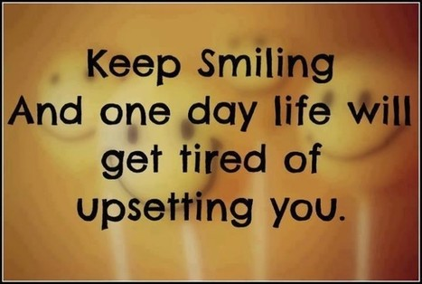 Smile So Much That Life Stops Hurting | The Best Quotes of All Time | Scoop.it