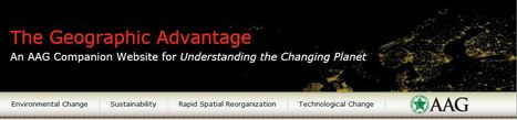 AAG: Changing Planet | History and Social Studies Education | Scoop.it
