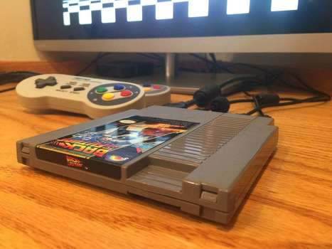Pi Cart: a Raspberry Pi Retro Gaming Rig in an NES Cartridge   Liseuses, tablettes et jeux videos   Scoop.it