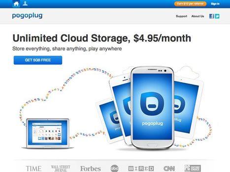 Pogoplug Cloud : stockage illimité à 4.95$ par mois ! - Fredzone | Soho et e-House : Vie numérique familiale | Scoop.it