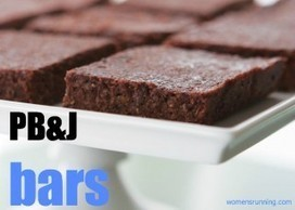Recipe: Peanut Butter & Jelly Bars - Women's Running | Just Chocolate!!! | Scoop.it