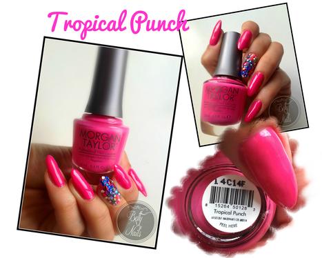 Betty Nails: Nail Polish | Morgan Taylor - Tropical Punch [Sun Kissed Sands] | Betty Nails | Scoop.it