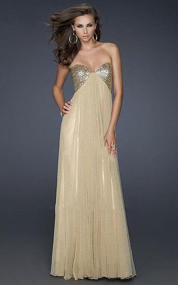 La Femme 16977Gold Charming Glitter Strapless Long Homecoming Dress Online Discount [La Femme 16977Gold] - $179.98 : La Femme Outlet, 60% Off La Femme Sale Online | gownprincess | Scoop.it