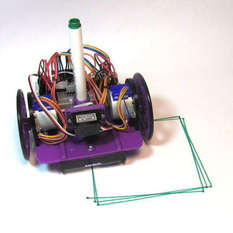 Low-Cost, Arduino-Compatible Drawing Robot - All | Smart devices and technology solutions | Scoop.it