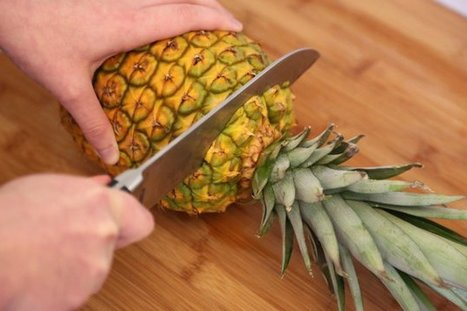 Learn to Cut Pineapple, In Pictures - Huffington Post | African American Literature | Scoop.it