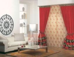 Yeni Moda Çiçekli Perdeler   Dekorasyon   Scoop.it