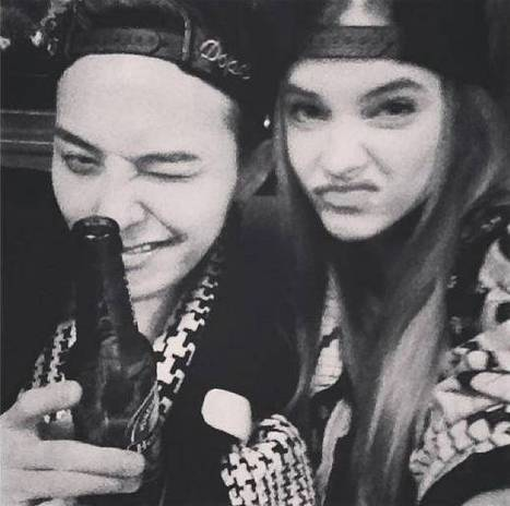 Big Bang's G-Dragon and Taeyang have fun with Barbara Palvin and more during 'Paris Fashion Week'   allkpop.com   CLOVER ENTERPRISES ''THE ENTERTAINMENT OF CHOICE''   Scoop.it