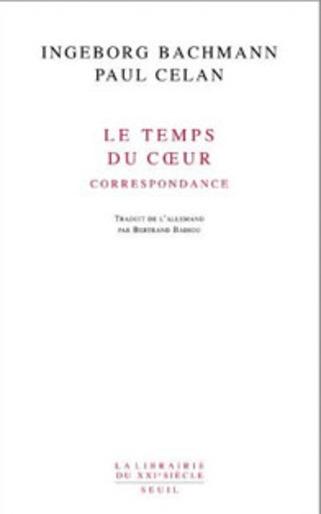 Note de lecture : correspondance Bachmann/Celan | Poezibao | Scoop.it