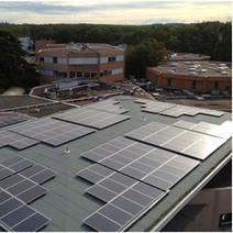 Achèvement des travaux des 42 centrales photovoltaïques dans 38 lycées | Economie Responsable et Consommation Collaborative | Scoop.it