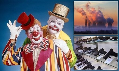 More Americans are scared of clownsthan of terrorism and dying | Kickin' Kickers | Scoop.it