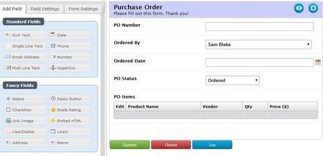 Online Database Builder | Online App Creator | Scoop.it