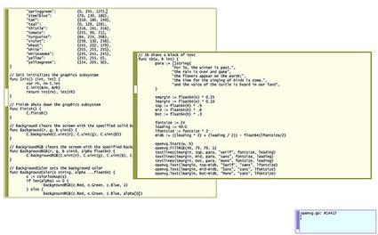 Mindchunk: OpenVG on the Raspberry Pi   Raspberry Pi   Scoop.it