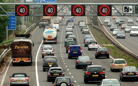Motorway speeds: Get used to driving at 40mph, says top highways official - Telegraph | UK Highways | Scoop.it
