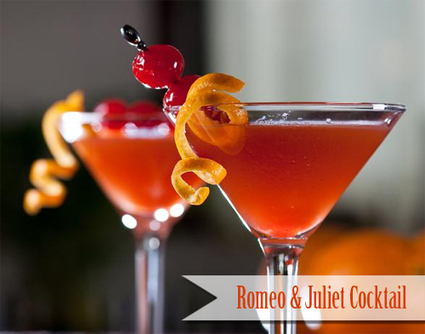 Romeo and Juliet Cocktail for Valentine's Day | Cocktails & Signature Cocktails | Scoop.it