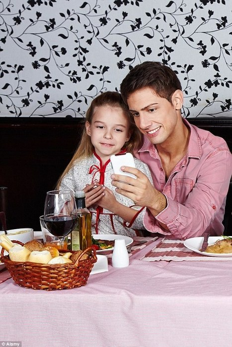 Parents give children gadgets to keep them occupied at restaurants | Kickin' Kickers | Scoop.it