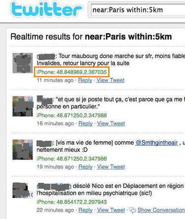 Les dangers de la géolocalisation sur Twitter | Mobile Apps & geolocalisation | Scoop.it