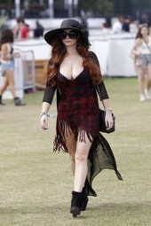 Phoebe Price - Hot out and about at Coachella | Glamour Adda | Scoop.it