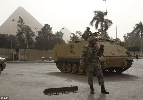 Egypt Chief Of Staff Says Army Will Avoid Politics | Égypt-actus | Scoop.it