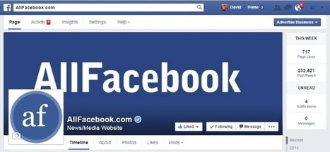 Facebook Replaces 'Build Audience' Button on Pages with 'Advertise Business' | MarketingHits | Scoop.it