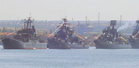 The largest Russian fleet in Mediterranean waters since Soviet ... | Coastal integrated management | Scoop.it