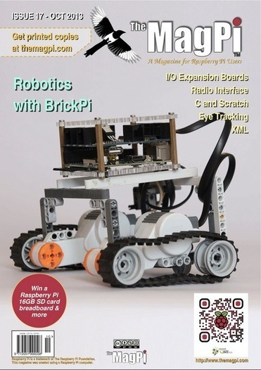 The MagPi issue 17, out now | Raspberry Pi | Raspberry Pi | Scoop.it