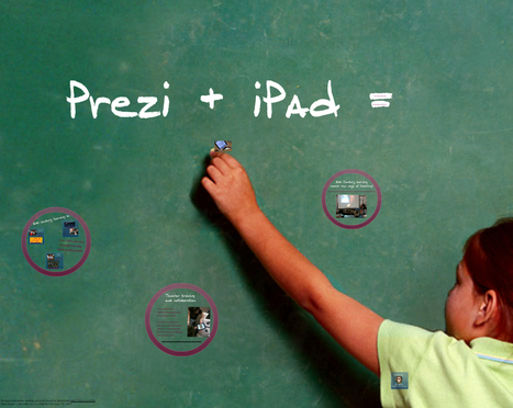 Using Prezi on the iPad for education: Prezi U | Moodle and Web 2.0 | Scoop.it