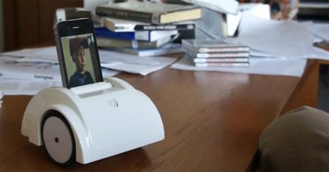 La téléprésence rendue possible sur iPhone   Actualités robots et humanoïdes   Scoop.it
