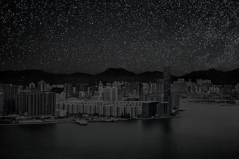 Voici à quoi ressembleraient nos villes sans pollution lumineuse   Science   Scoop.it