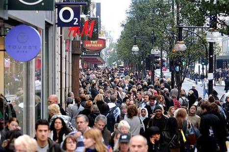 Population growth in London 'double the rate in rest of UK' - Evening Standard | Going global | Scoop.it