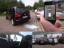 Reportage : Le système de stationnement automatique Park4U gare entièrement le véhicule ! | Auto-moto news et statistiques | Scoop.it