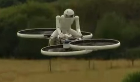 Checkout the Hoverbike : The Coolest new Invention in Drone Technology | Technology in Business Today | Scoop.it