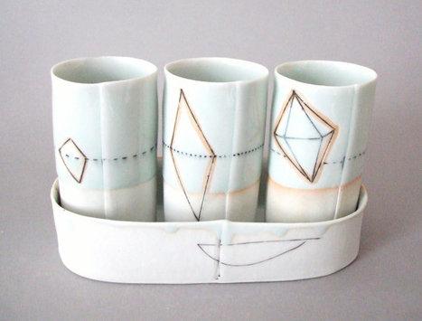Translucent porcelain desert wine cup set | Etsymode | Scoop.it