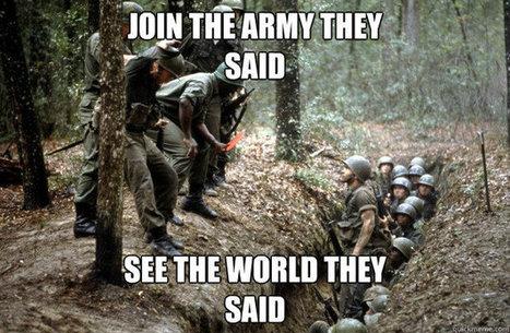 Top 10 Best US Army Memes - Vision Strike Wear Military Blog | military | Scoop.it