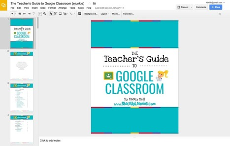 How to Create an eBook with Google Slides | Shake Up Learning | Tools, Tech and education | Scoop.it