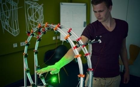 Un escáner 3D podría ayudar a imprimir moldes exactos para prótesis y yesos | Fisioterapia y eSalud | Scoop.it